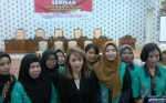 Emak-Emak di Katingan Ikuti Seminar Kaukus Perempuan Parlemen