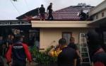 Rumah Ketua RT di Jalan Rinjani Terbakar