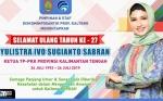 Selamat Ulang Tahun ke-27 Yulistra Ivo Azhari Sugianto Sabran