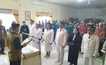 Camat Dusun Selatan Lantik 5 Pj Kepala Desa Isi Kekosongan Jabatan