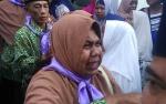 Isak Tangis Warnai Keberangkatan Jemaah Calon Haji Kotawaringin Timur