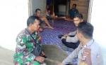 Kapolsek Murung dan Babinsa Sosialisasikan Pengalihan Jalan PT Indo Muro Kencana