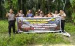 Polres Sukamara Gencarkan Sosialisasi Larangan Bakar Lahan