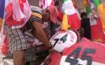 Pedagang Bendera Merah Putih Mulai Bermunculan di Sampit