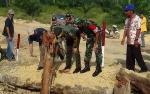 Tim Pengawasan dan Evaluasi Mabes TNI Tinjau Lokasi TMMD di Pangkut