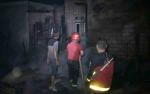 Sebuah Rumah Kosong di Sampit Terbakar