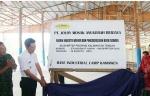 Bupati Barito Utara Resmikan Pabrik Industri Veneer