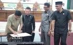 Pemkab Sukamara dan DPRD Tandatangani Nota Kesepakatan KUA - PPAS