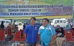 Dua Wartawan Anggota PWI Barito Selatan Berangkat Haji
