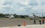 Kotawaringin Timur Dapat Bantuan 2 Helikopter Water Bombing