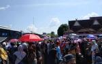 Suasana Haru Warnai Pelepasan Jamaah Haji Barito Utara