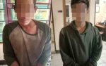 Polisi Bekuk 2 Pencuri Accu Tronton PT SHES