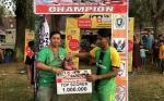 Sekretaris Kalteng Putra Saksikan Final Sahabat Millenial Cup