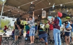 Komunitas Kicau Mania Sukamara Gelar Kontes Burung Berkicau Bupati Cup I