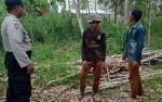 Anggota Personel Polsek Basarang Patroli Antisipasi Kebakaran Hutan dan Lahan
