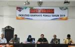 KPU Barito Utara Gelar Rapat Evaluasi Fasilitasi Kampanye Pemilu Tahun 2019
