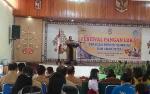 10 TP PKK Kecamatan Ikuti Festival Pangan Lokal B2SA Tingkat Kabupaten Gunung Mas