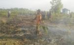 Seorang Pembakar Lahan di Kecamatan Mentawa Baru Ketapang Diamankan Polisi