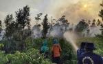 Tim Terus Berjuang Tangani Kebakaran Lahan di Seruyan