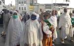 Saat Ini Sebagian Jemaah Calon Haji Asal Kotawaringin Barat Sedang Ziarah