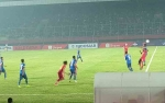 Babak Pertama Kalteng Putra Unggul 2-1 atas Arema FC