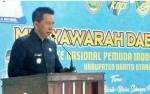 Bupati Barito Utara Harapkan KNPI Jadi Pelaku Aktif Pembangunan