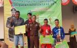 Kajari Cup Dimenangkan TIM CBR Barito Timur