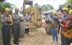 Pangdam XII/Tpr Hadiri Penandatanganan MoU Konsorsium Pembangunan Jalan di Kobar