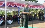 Kegiatan TMMD Kodim 1011 Kuala Kapuas di Desa Wargo Mulyo Resmi Ditutup