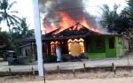 Rumah Guru SD di Lamandau Ludes Terbakar