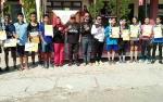 Ratusan Pelajar SMP dan SMA di Kotawaringin Timur Meriahkan Lomba Lari