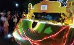 Puluhan Rombongan Peserta Meriahkan Pawai Takbir Idul Adha di Palangka Raya