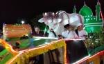 Warga Palangka Raya Padati Pusat Pawai Takbir Idul Adha