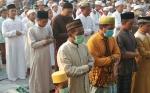 Ratusan Jamaah Salat Mohon Turun Hujan di Pesantren Darul Amin Palangka Raya