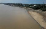 Sungai Katingan Terus Menyurut