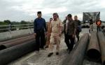 Gubernur Kalbar Respon Positif Kelanjutan Pembangunan Jembatan Jelai