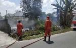 Kepala Markas PMI Sukamara Sigap Hubungi Damkar Usai Lihat Kebakaran Lahan