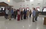 Jelang Pelantikan Anggota DPRD, Setwan Barsel Gelar Gladi Bersih