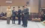 Rimbun dan Darmawati Resmi Jadi Pimpinan Sementara DPRD Kotawaringin Timur
