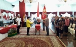 Gubernur Kukuhkan Pengurus DPP Angkatan Penerus Perjuangan Gerakan Mandau Talawang Pancasila
