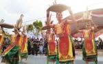 Karnaval Budaya Meriahkan Pulang Pisau Sambut HUT Kemerdekaan dan HUT Pulang Pisau