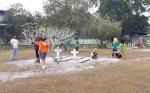 ASN Kobar Sambut Hari Kemerdekaan dengan Bersihkan Taman Makam Pahlawan