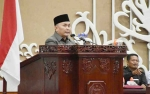 Gubernur Jawab Pandangan Fraksi di DPRD Kalteng pada Rapat Paripurna