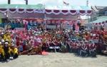 Ratusan Peserta Meriahkan Jambore PKK Tingkat Kabupaten Kapuas
