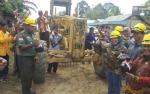 Bupati Tagih Tanggung Jawab Perusahaan Bangunan Jalan Konsorsium Tahap II