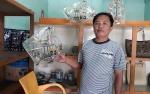 Perajin Getah Nyatuh Ini Ingin terus Bersinergi dengan Pemkab Kapuas Kembangkan UKM