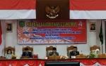 Pimpinan Daerah dan DPRD Dengarkan Pidato Kenegaraan Presiden