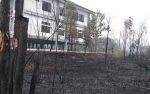 Pemadaman Api di Kompleks Perkantoran Terkendala Sumber Air