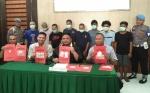 Polres Kotawaringin Timur Ungkap 8 Kasus Narkoba Dalam Sepekan, Barang Bukti 166,5 Gram Sabu