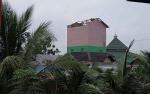 Sejumlah Bangunan di Muara Teweh Porakporanda Diterpa Angin Kencang